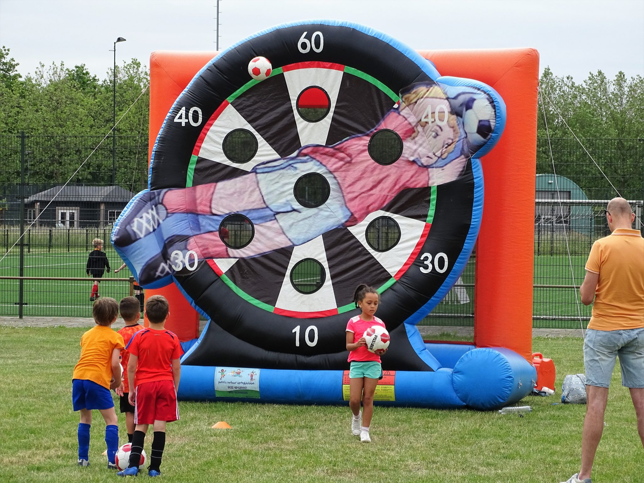 Geslaagde VV Internos kids voetbal-dag
